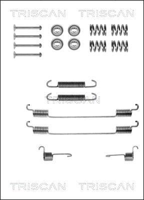 Kit de montage machoires de frein TRISCAN 8105 152549 (X1)