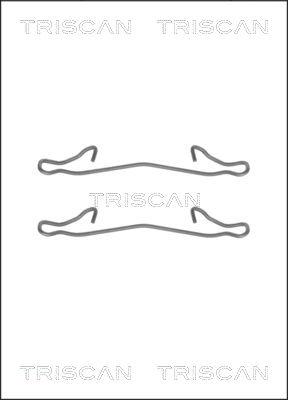 Kit de montage plaquettes de frein TRISCAN 8105 161563 (X1)