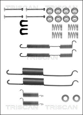 Kit de montage machoires de frein TRISCAN 8105 162254 (X1)