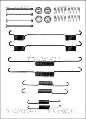 Kit de montage machoires de frein TRISCAN 8105 182002 (X1)