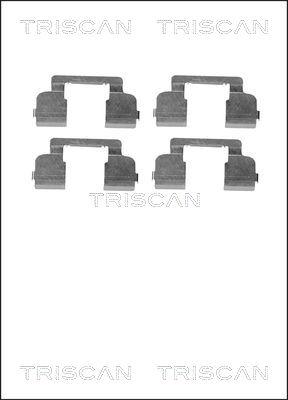 Kit de montage plaquettes de frein TRISCAN 8105 251597 (X1)