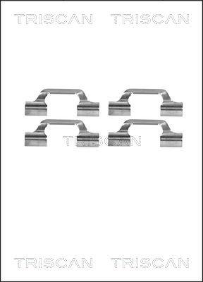 Kit de montage plaquettes de frein TRISCAN 8105 291610 (X1)