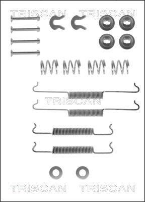 Kit de montage machoires de frein TRISCAN 8105 292338 (X1)