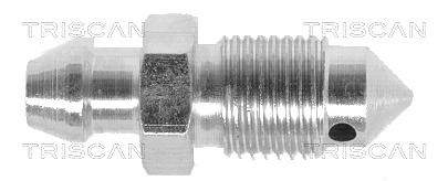 Vis de purge d'air de soupape et d'étrier de frein TRISCAN 8105 3669 (X1)