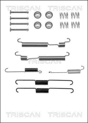 Kit de montage machoires de frein TRISCAN 8105 432005 (X1)