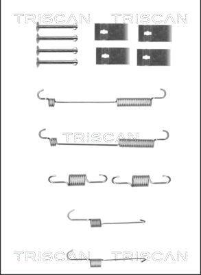 Kit de montage machoires de frein TRISCAN 8105 432006 (X1)