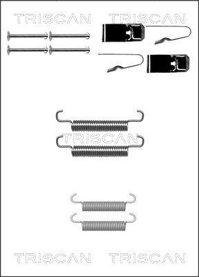 Kit d'accessoires mâchoires de frein de stationnement TRISCAN 8105 802001 (X1)