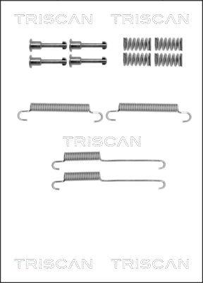 Kit d'accessoires mâchoires de frein de stationnement TRISCAN 8105 802002 (X1)