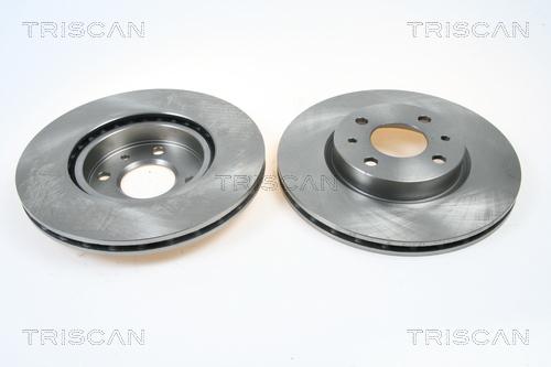 Disque de frein avant TRISCAN 8120 10101 (X1)