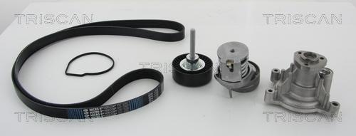 Pompe à eau + jeu de courroie d'accessoires TRISCAN 8642 290500 (X1)