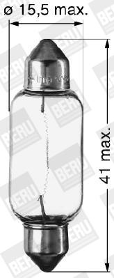 Ampoules BERU 412150 (X1)