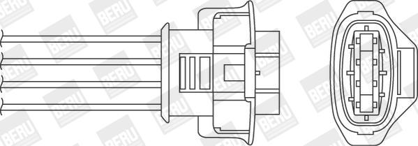 Sonde lambda BERU OPH077 (X1)