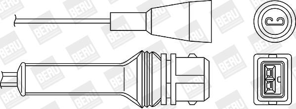 Sonde lambda BERU OZH037 (X1)