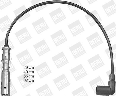 Cable d'allumage BERU PRO1224 (X1)