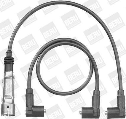 Cable d'allumage BERU PRO562 (X1)