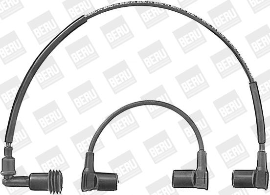 Cable d'allumage BERU ZE566 (X1)