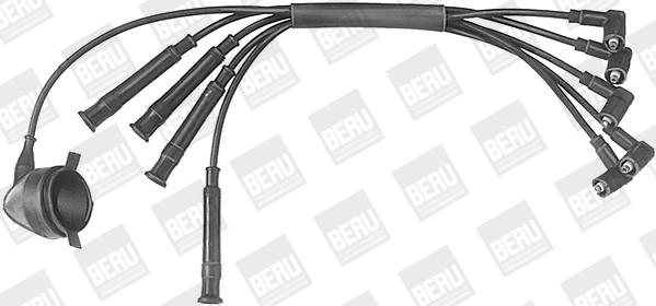 Cable d'allumage BERU ZE575 (X1)