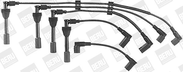Cable d'allumage BERU ZE586 (X1)