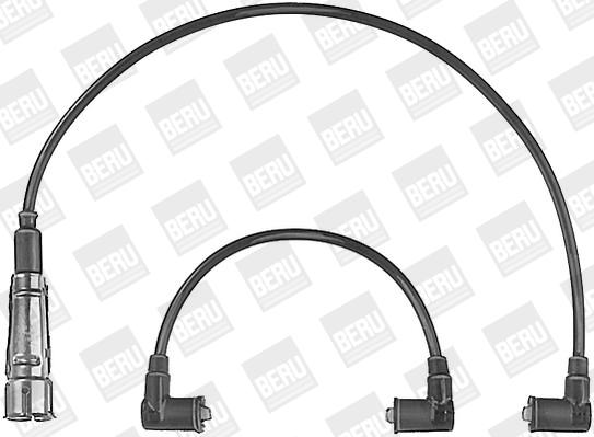 Cable d'allumage BERU ZE590 (X1)