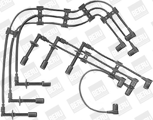 Cable d'allumage BERU ZE715 (X1)