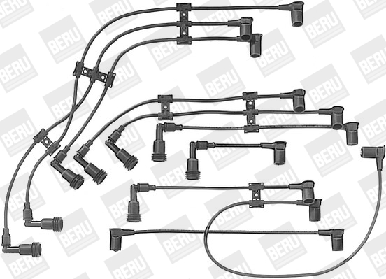 Cable d'allumage BERU ZE906 (X1)