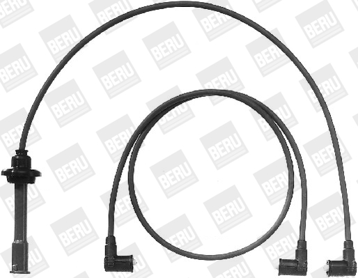 Cable d'allumage BERU ZEF1036 (X1)