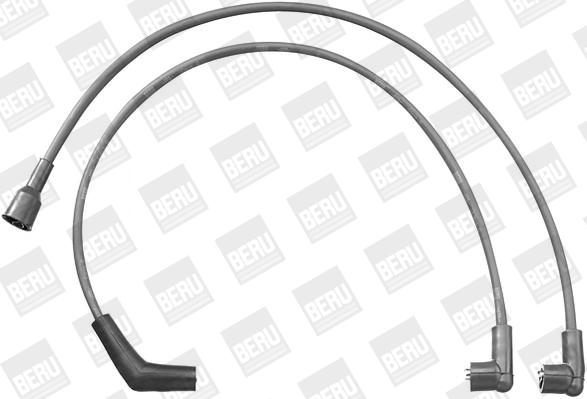 Cable d'allumage BERU ZEF1214 (X1)