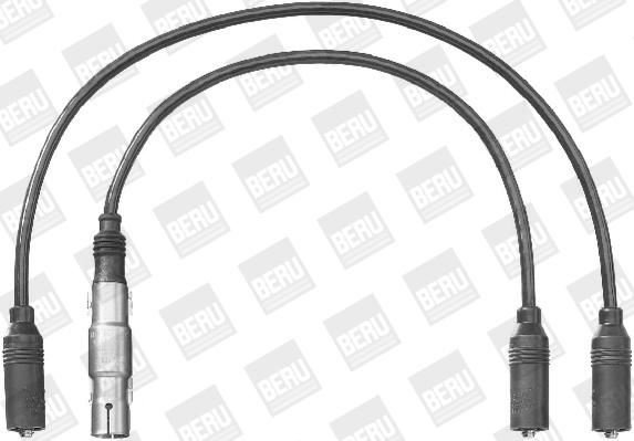 Cable d'allumage BERU ZEF1222 (X1)