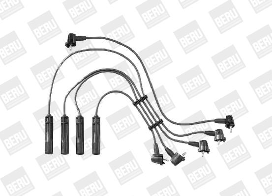 Cable d'allumage BERU ZEF1353 (X1)