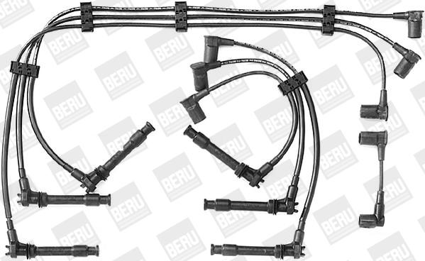 Cable d'allumage BERU ZEF295 (X1)