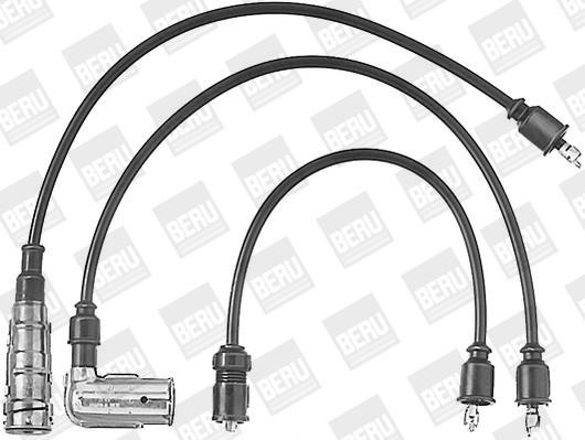 Cable d'allumage BERU ZEF362 (X1)
