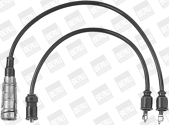 Cable d'allumage BERU ZEF364 (X1)