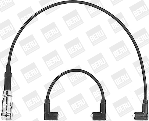 Cable d'allumage BERU ZEF408 (X1)