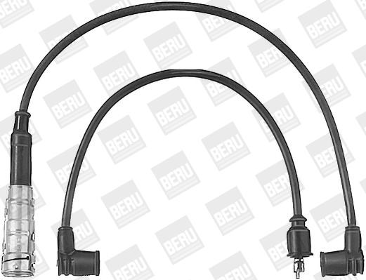 Cable d'allumage BERU ZEF472 (X1)