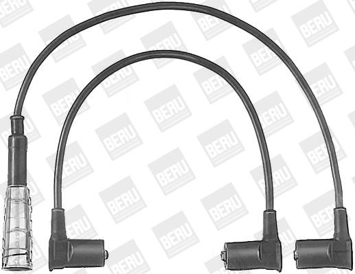 Cable d'allumage BERU ZEF501 (X1)