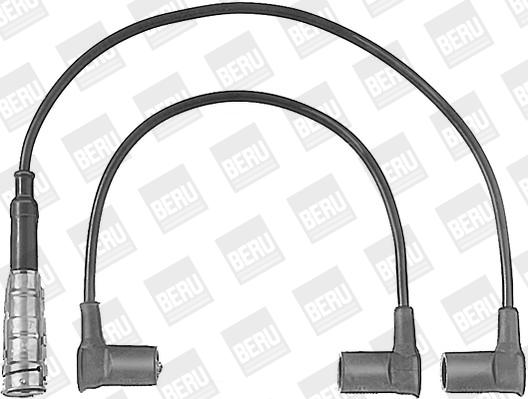 Cable d'allumage BERU ZEF566 (X1)