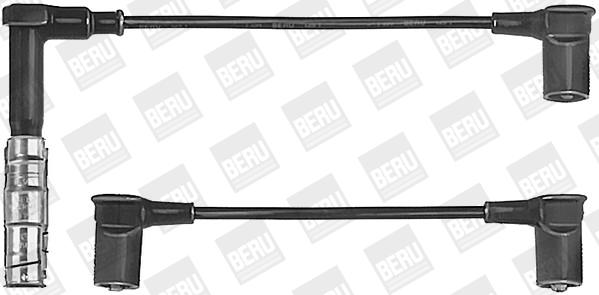 Cable d'allumage BERU ZEF585 (X1)
