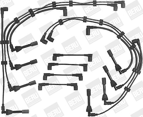Cable d'allumage BERU ZEF586 (X1)