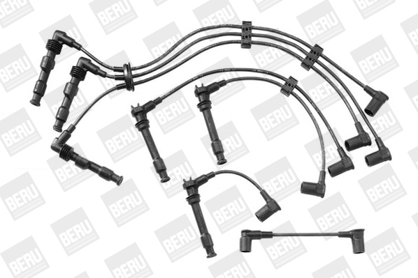 Cable d'allumage BERU ZEF601 (X1)