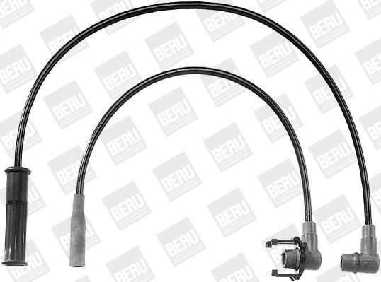Cable d'allumage BERU ZEF735 (X1)