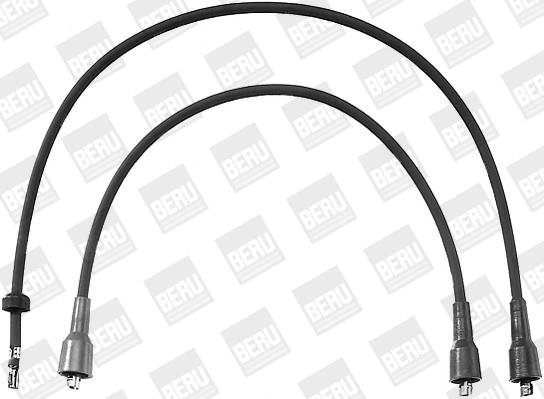 Cable d'allumage BERU ZEF751 (X1)