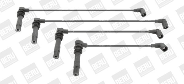 Cable d'allumage BERU ZEF990 (X1)