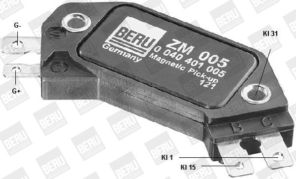 Module d'allumage BERU ZM005 (X1)