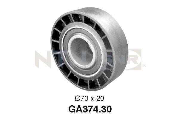 Galet tendeur accessoires SNR GA374.30 (X1)