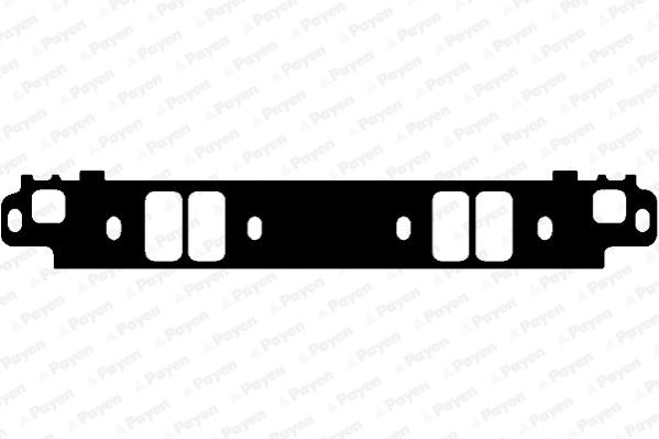 Ajusa 13147600 Joint d/étanch/éit/é collecteur dadmission//d/échappement