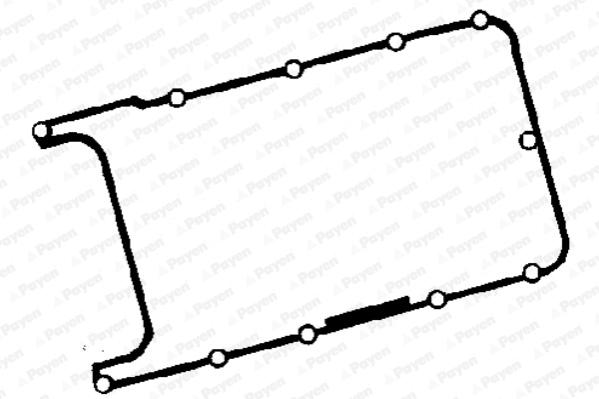 Joint de cache culbuteurs PAYEN JM7045 (X1)