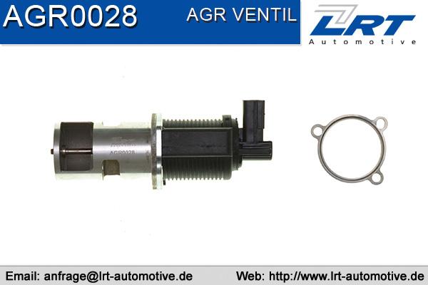 Vanne EGR LRT AGR0028 (X1)