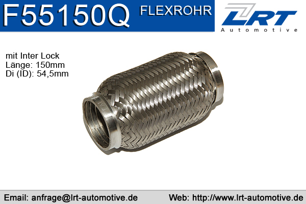 Tuyau flexible, échappement LRT F55150Q (X1)