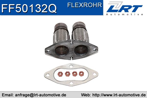 Tuyau flexible, échappement LRT FF50132Q (X1)