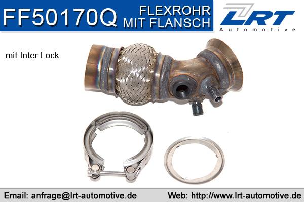 Tuyau flexible, échappement LRT FF50170Q (X1)